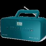 Muse draagbare CD-speler, M-30BTB, FM radio, USB, AUX-in, bluetooth