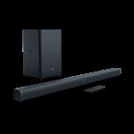 JBL Bar 2.1 soundbar, Subwoofer, HDMI, Optical, Bluetooth, afstandsbediening